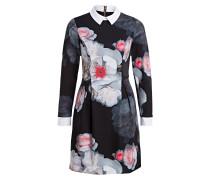 Kleid KALEESA - schwarz/ grau