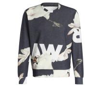 Sweatshirt CORE S - dunkelgrau meliert