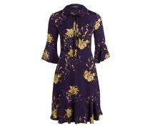Kleid PENNA - lila/ gelb/ khaki
