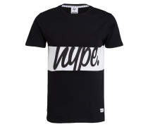 T-Shirt INFILL PANEL - schwarz/ weiss