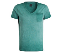 T-Shirt J-DEAN-V - gelb