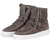 Hightop-Sneaker BASKET - grau