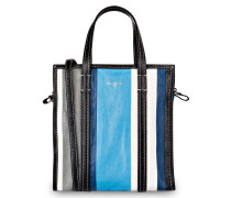 Shopper BAZAR SMALL - ecru/ blau/ grau