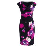 Jerseykleid - navy/ pink/ violett
