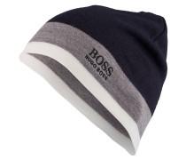 Mütze CINY - navy/ grau/ offwhite