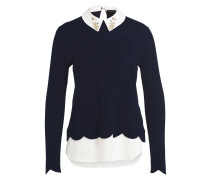 Pullover SUZAINE - navy/ ivory