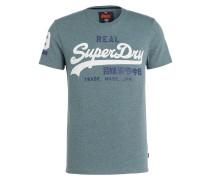 T-Shirt - blaugrau meliert