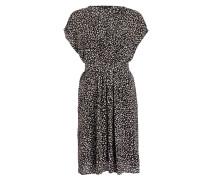 Kleid - schwarz/ ecru