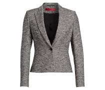 Tweed-Blazer ABRILL - schwarz