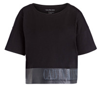 T-Shirt TECA - schwarz