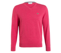 Pullover - rot meliert