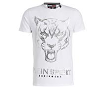 T-Shirt - weiss/ silber