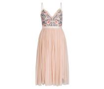 Kleid - rosé/ blau