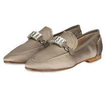 Loafer CLOVER - taupe