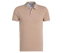 Poloshirt Slim-Fit - beige