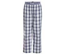 Lounge-Pants URBAN - blaugrau/ weiss