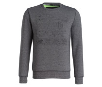 Sweatshirt GYM TECH - grau