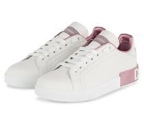 Sneaker PORTOFINO - WEISS/ HELLLILA