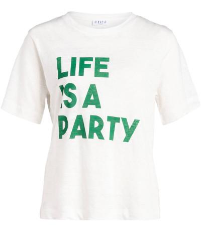 T-Shirt TEARSLIFE aus Leinen