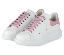 Plateau-Sneaker - WEISS/ ROSÉ