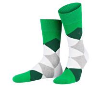 Socken CLYDE - 7406 moss green