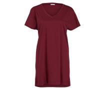 Nachthemd LAURA - dunkelrot