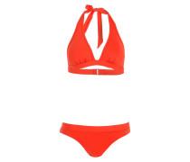 Neckholder-Bikini NOLINA - rot