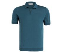 Feinstrick-Poloshirt RHODES - grün