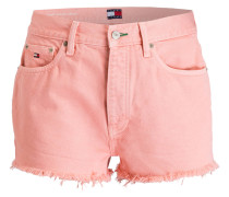 Jeans-Shorts - rosa