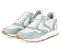 Plateau-Sneaker JULIA POWER - WEISS/ MINT