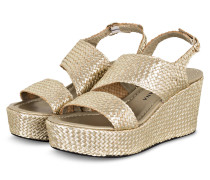 Plateau-Wedges - GOLD
