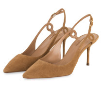 Slingpumps SERPENTINE - CAMEL