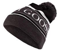 Mütze - grau/ schwarz/ weiss