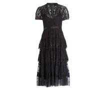 Kleid LAYERED - schwarz