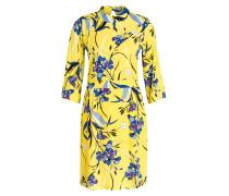 Kleid LEMON - gelb/ blau/ pink