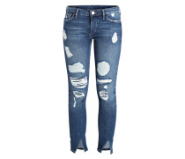Destroyed-Jeans LIV - cobalt blue