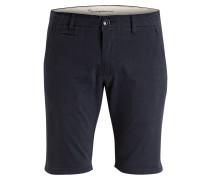 Chino-Shorts Tight-Fit - blau