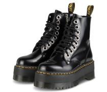 Plateau-Boots JADON MAX - SCHWARZ