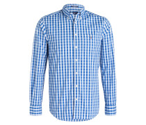 Hemd Regular-Fit - blau/ hellblau kariert