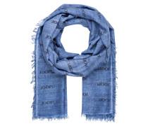 Schal - hellblau meliert