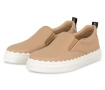Slip-on-Sneaker mit Plateau - 26C Pink Tea