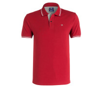 Piqué-Poloshirt Easy-Fit - rot