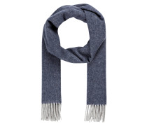 Schal - blaugrau