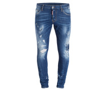 Destroyed-Jeans SEXY TWIST Skinny-Fit