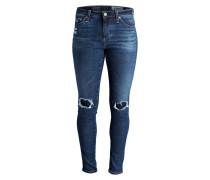 Skinny-Jeans - dwm mittelblau