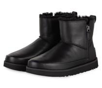 Boots CLASSIC ZIP MINI - SCHWARZ