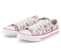 Sneaker FLOWER POWER - ROSÉ/ WEISS