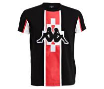 T-Shirt KAPPA - schwarz