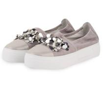 Plateau-Sneaker BIG - hellgrau