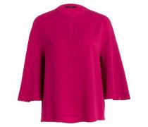 Bluse mit 3/4-Arm - violett